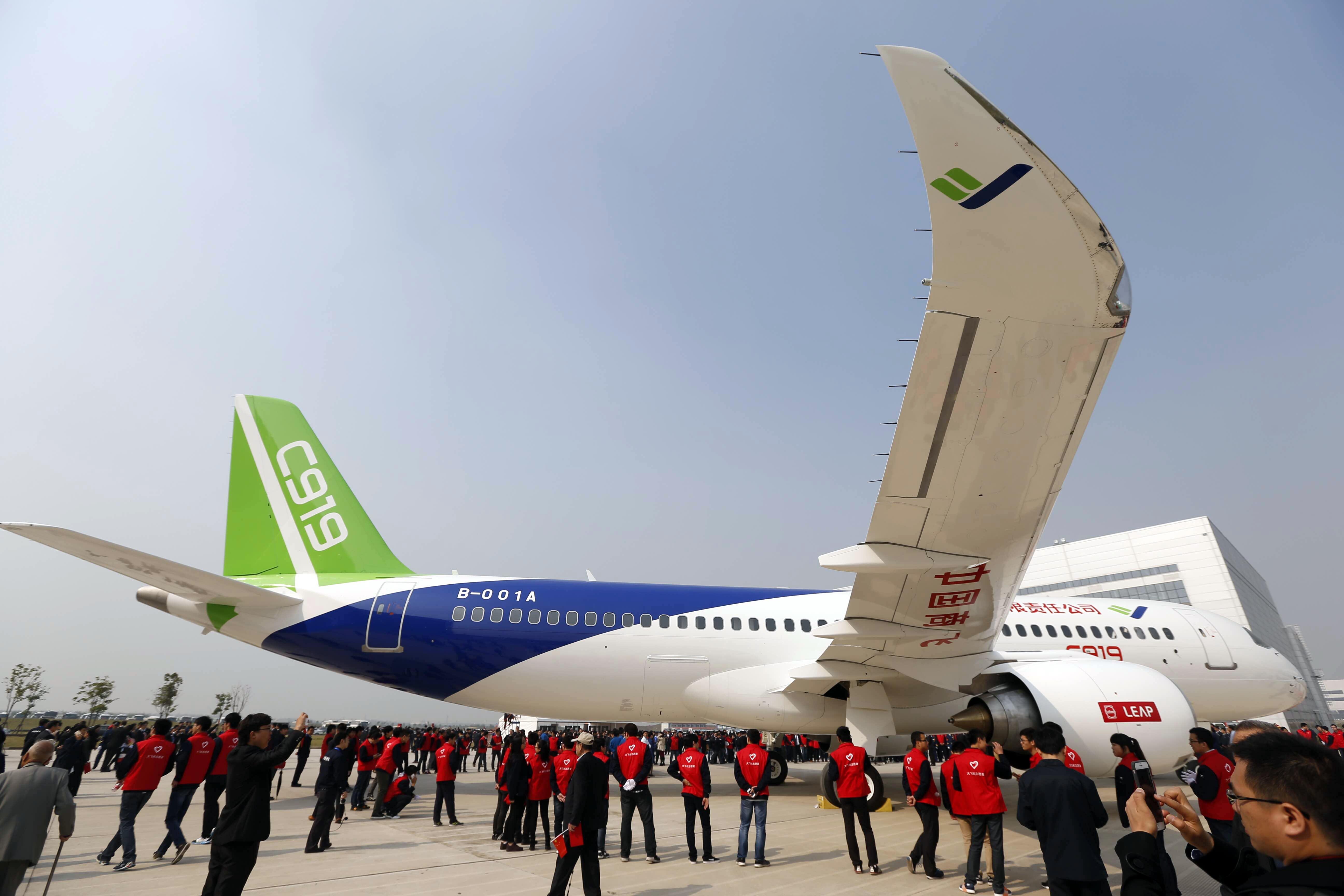 homegrown large passenger plane - 1024×682
