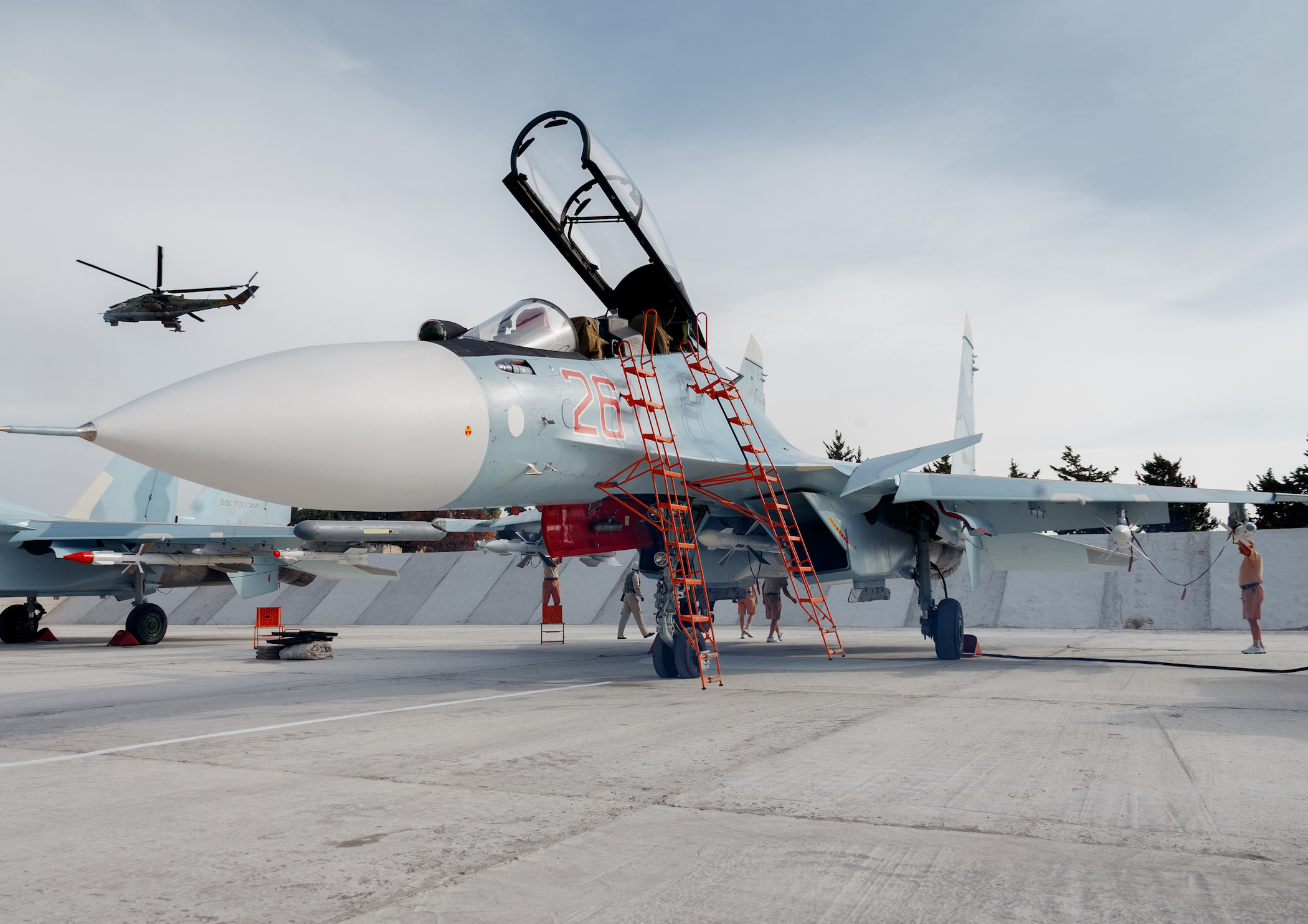 Russian military intervention and aid to Syria #9 - Page 4 Su-30SM_aviadrive